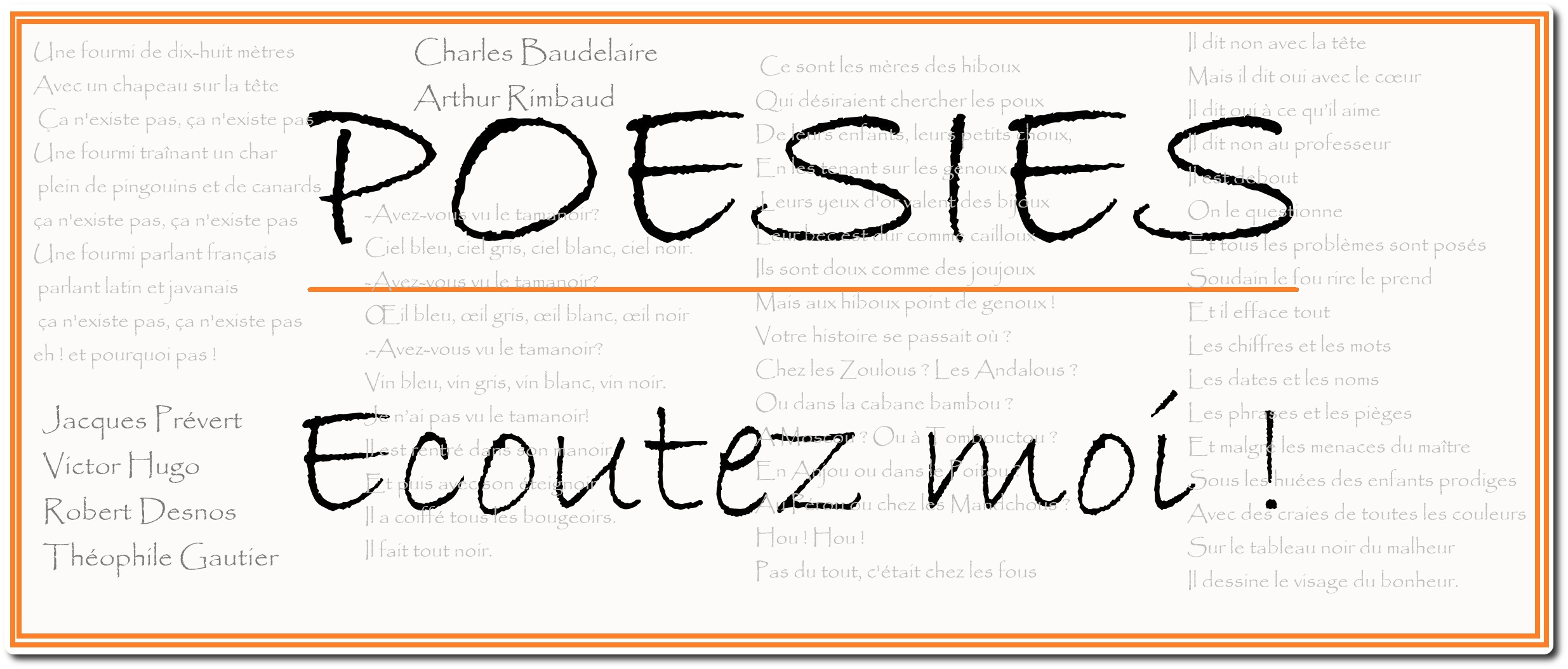 Poésie Prêtez Loreille Orinoco